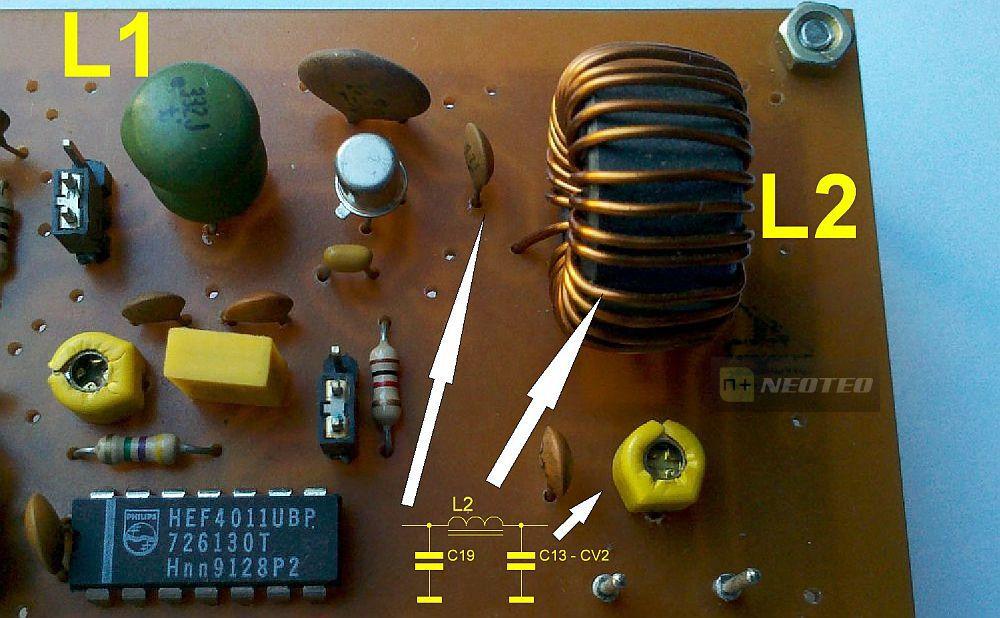 Filtro PI de Salida del Transmisor de AM