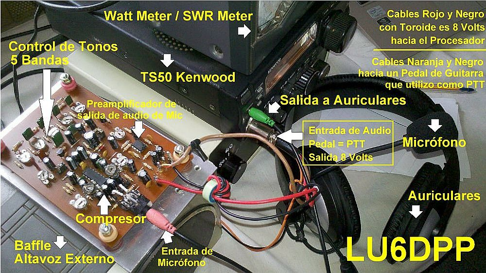 Procesador de Micrófono de LU6DPP