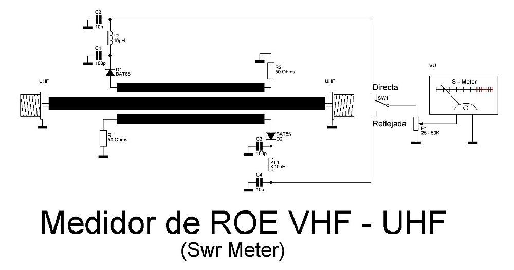 Circuito Medidor de ROE SWR