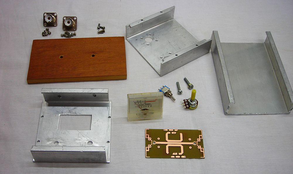 Materiales para construir el Medidor de ROE SWR