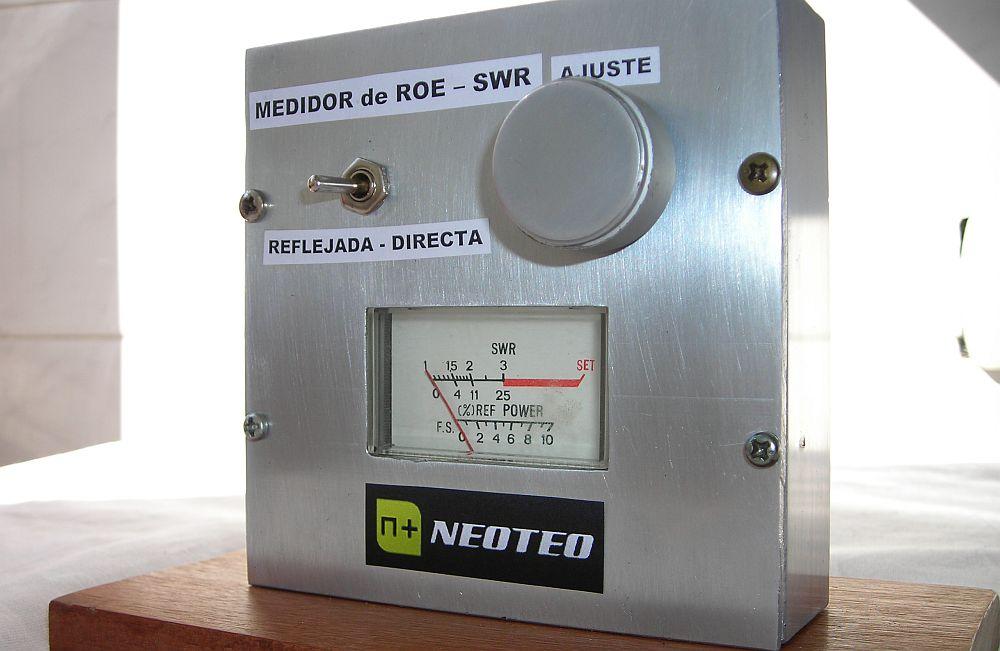 Medidor de ROE SWR Terminado