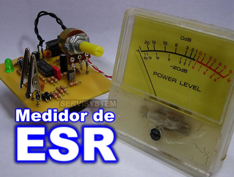 Medidor de ESR - Servisystem