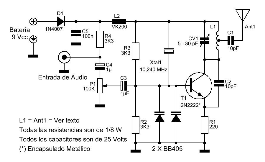 Micro Transmisor de FM